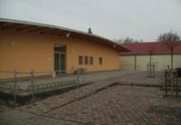 Turnhalle TSV von Aussen